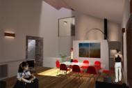 Living room/ lightwell