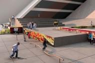 Stree tlevel skatepark
