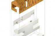 Envelope, Kitchen Wall, Habitation Space, Circulation