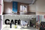 Before and After:  Café, Sculptural Space