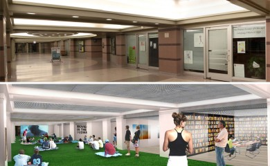 Before and After:  Movies in the Pedway