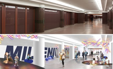 Before and After: Active Space and supergraphics